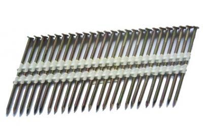 21 Deg Plastic Strip Nails Spiral